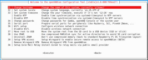 Pi-Home - nastavení OpenHAB