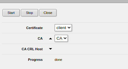 Mikrotik - add client certificate