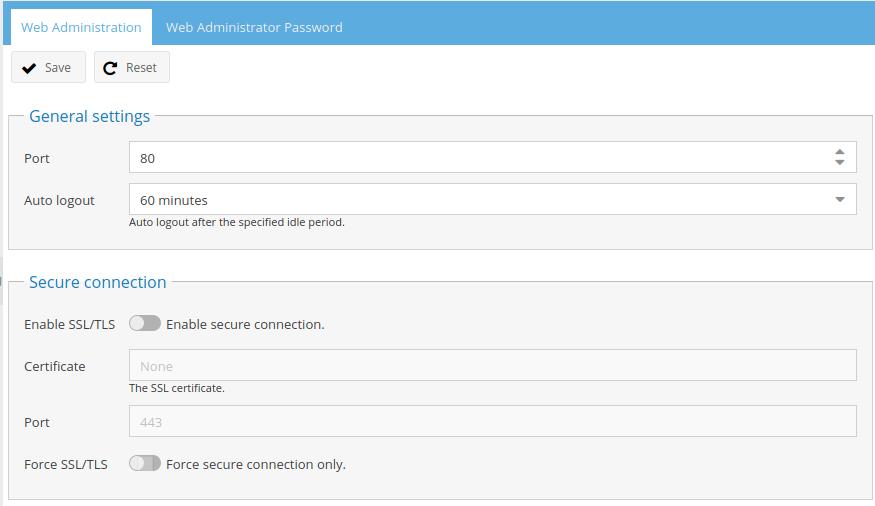 Pi-NAS - Základní konfigurace