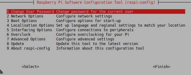 Změna výchozího hesla na Raspberry Pi