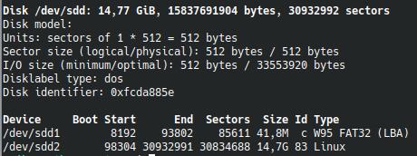 Pokročilé klonování disků - fdisk